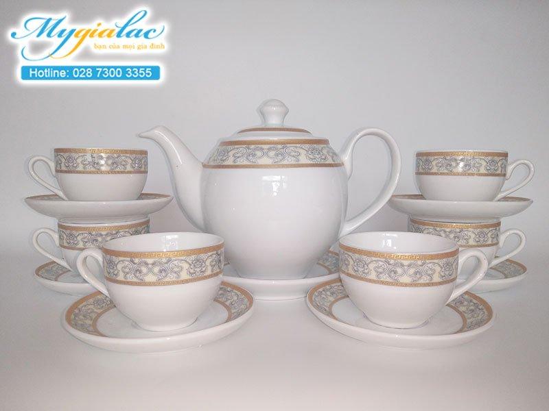 Bộ trà Cát Tường Kiêu Sa