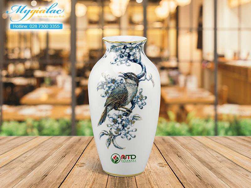 Qua Tang Gom Su Binh Hoa Ml. 3