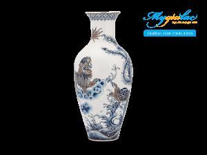 Bình hoa 30cm Tứ Linh