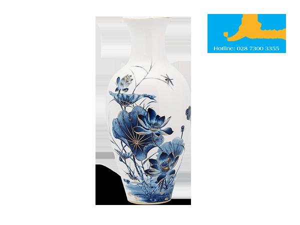 Binh Hoa 45 Cm Sen Vang2