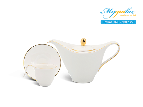 Bộ cà phê 0.45 L Anh Vũ - Chỉ Vàng 2
