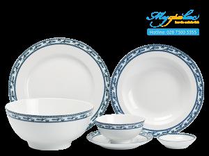 Bộ đồ ăn Jasmine Chim Lạc 36 sản phẩm
