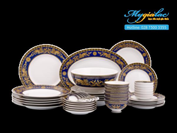 Bộ đồ ăn Hoàng Cung Cẩm Tú 44 sản phẩm