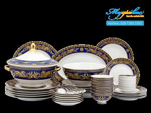 Bộ đồ ăn Hoàng Cung Cẩm Tú 45 sản phẩm