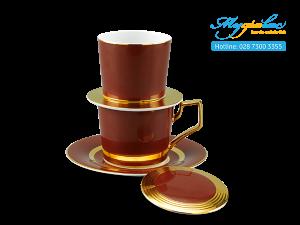 Bộ phin cà phê Camellia Màu cà phê 1