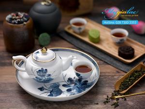 Bộ trà Jasmine Sen Vàng 0.35L