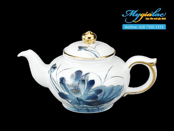 Bộ trà Jasmine Sen Vàng 0.35L 2