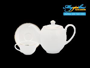Bộ trà 0.5L Camellia Chỉ Vàng 3