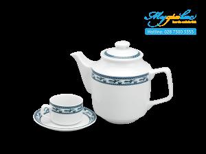 Bộ trà Jasmine Chim Lạc 0.7L