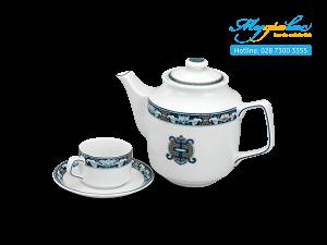 Bộ trà 0.7L Jasmine Phước Lộc Thọ 1