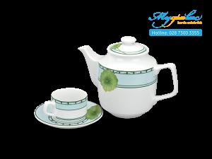 Bộ trà Jasmine Tích Tuyết Thảo 0.7L