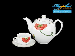 Bộ trà Camellia Kết Duyên 0.8L