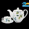 Bộ trà 0.8L Camellia Lá Xanh 1