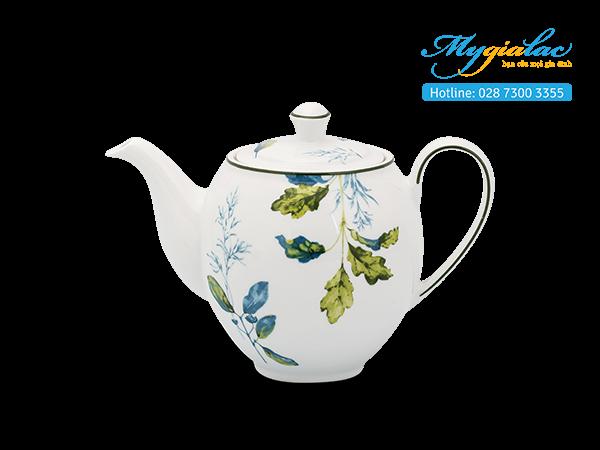 Bộ trà 0.8L Camellia Lá Xanh 2