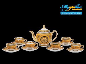 Bộ trà Hoàng Cung Hoàng Bào (sen) 0.8L