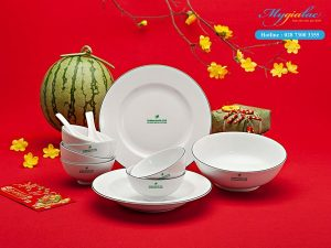 In logo bộ đồ ăn Minh Long 1