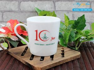 Ca Sứ In Logo 10 Year