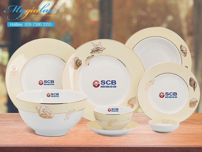 Quà tặng sự kiện bộ đồ ăn Minh Long