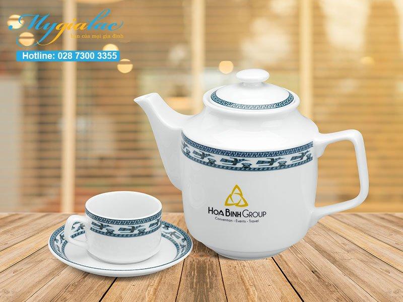 Quà tặng sự kiện bộ trà Minh Long 3