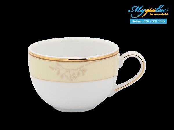 Bộ trà (Bộ 6 tách/dĩa) Camellia Hương Biển kem 1.1L -3