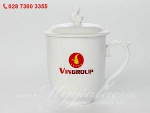 Bộ Ca Mẫu Đơn In Logo Vingroup