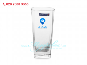 Ly Thủy Tinh Cao Luminarc Sterling 330ml In Logo Zita.vn