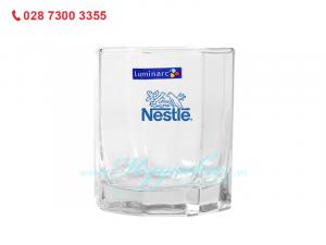 Ly Thủy Tinh Thấp Luminarc Octime 300ml in Logo Nestle