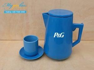 Bình Trà Sứ 2L In Logo P&G