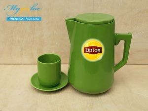 Bình Trà Sứ 2L In Logo Lipton
