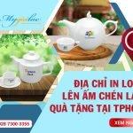 【In Logo Lên Ấm Chén 】Uống Trà Làm Quà Tặng Tại TPHCM
