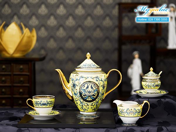 Bộ cà phê Hoàng Cung Hoàng Liên 1.5L