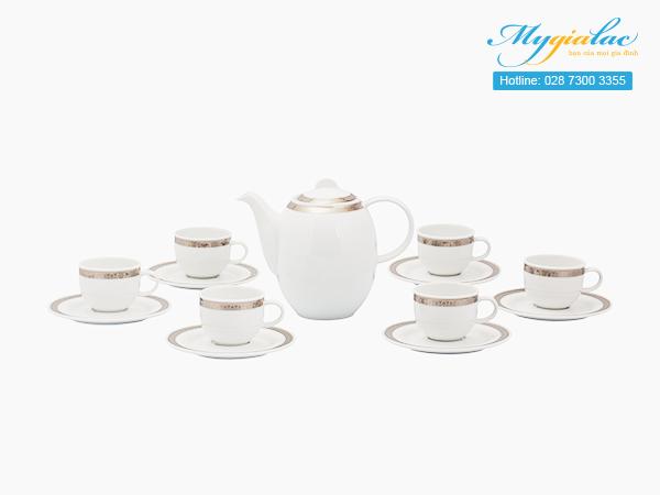 Bộ cà phê Sago Thiên Tuế 0.8L - 1