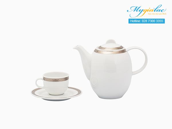 Bộ cà phê Sago Thiên Tuế 0.8L - 2