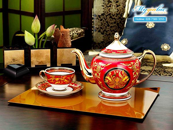 Bộ trà Hoàng Cung Quốc Sắc 0.8L-1