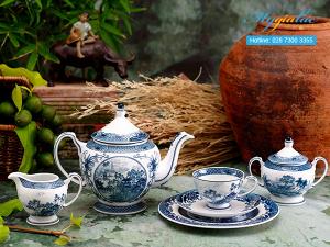 Bộ trà Hoàng Cung Hồn Việt 1.3L