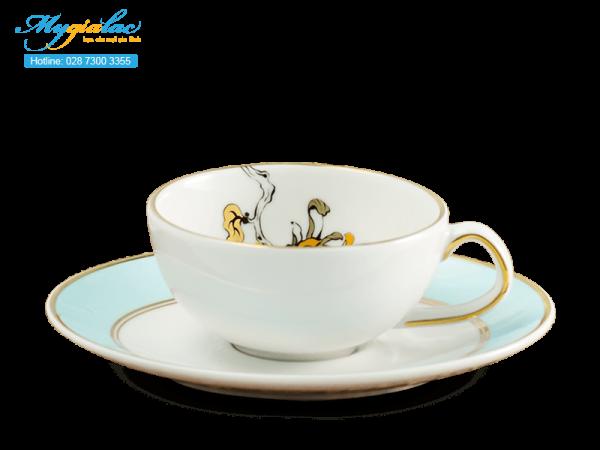 Bộ trà elip Anna An Nhiên (Minh Nguyệt) 0.47L-4