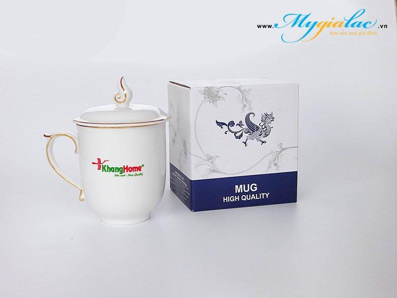 Ca Mau Don Co Nap In Logo Lam Qua Tang Luu Niem