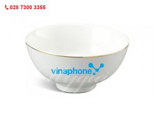 Chén Cơm Jasmine IFP Chỉ Vàng In Logo Vinaphone