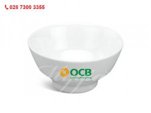 Chén Cơm Loa Kèn In Logo Ngân Hàng OCB