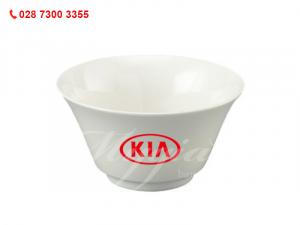 Chén Cơm Tulip Ngà In Logo KIA