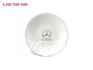 Dĩa Tròn Mẫu Đơn IFP Chỉ Vàng 25cm Mercedes Benz