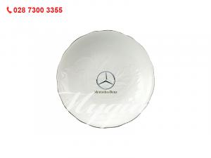 Dĩa Tròn Sen IFP Chỉ Bạch Kim 25cm Mercedes Benz