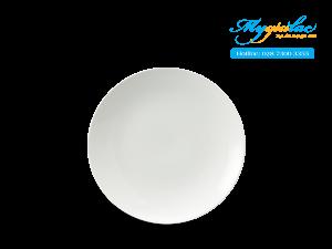 Dĩa tròn ảo Daisy IFP Trắng Ngà 26cm