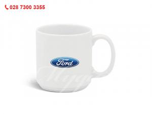 Ca Sứ Thấp Quai Tròn In Logo Ford
