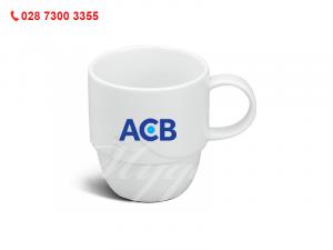 Ca Sứ Loa Kèn In Logo Ngân Hàng ACB