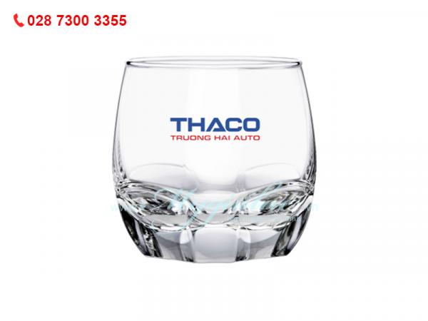 Ly Thủy Tinh Charisma Rock In Logo Thaco