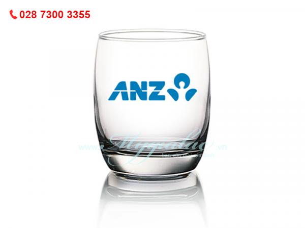 Ly Thủy Tinh In Logo Ivory Ngân Hàng ANZ