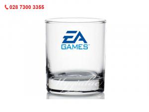 Ly Thủy Tinh Lùn Cao Cấp Indo In logo EA Games