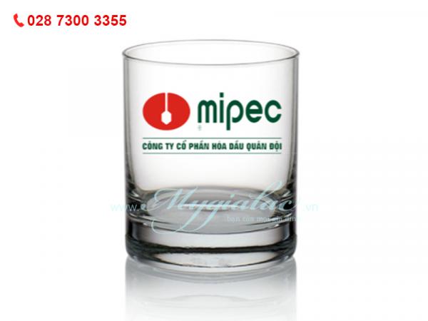 Ly Thủy Tinh Newyork In Logo Mipec
