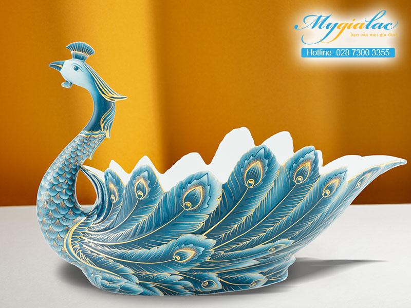 Quà tặng khách hàng Dĩa Trái Cây Minh Long in logo 2